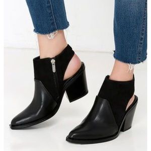 Sam Edelman Carly Ankle Boot Booties Black 8.5